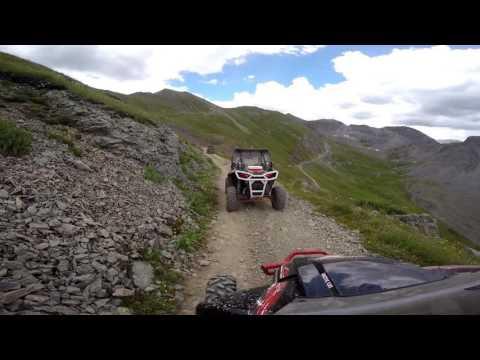 Descending Kendall Mountain, Silverton Co. Part 1