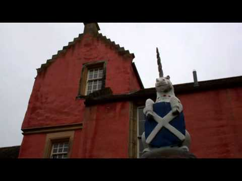 Mercat Cross Unicorn Dunfermline Fife Scotland