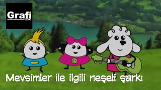 Çocuk Şarkıları: Bella Mella Mee - Mevsimler ile ilgili neşeli şarkı