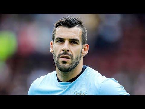 Álvaro Negredo fantastic assist (Pre-Season 2014/15)