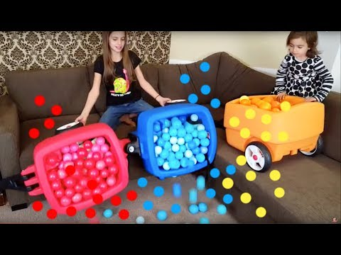 Thumbnail: Learn Colors and Having Fun with Balloons and Silicone Baby Doll