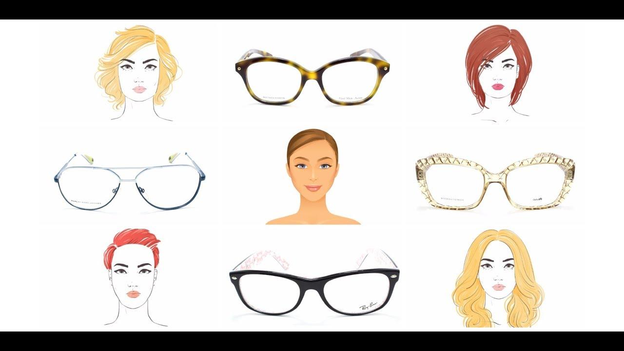 Как подобрать очки для зрения по форме лица - YouTube eaf6f5fbaa7