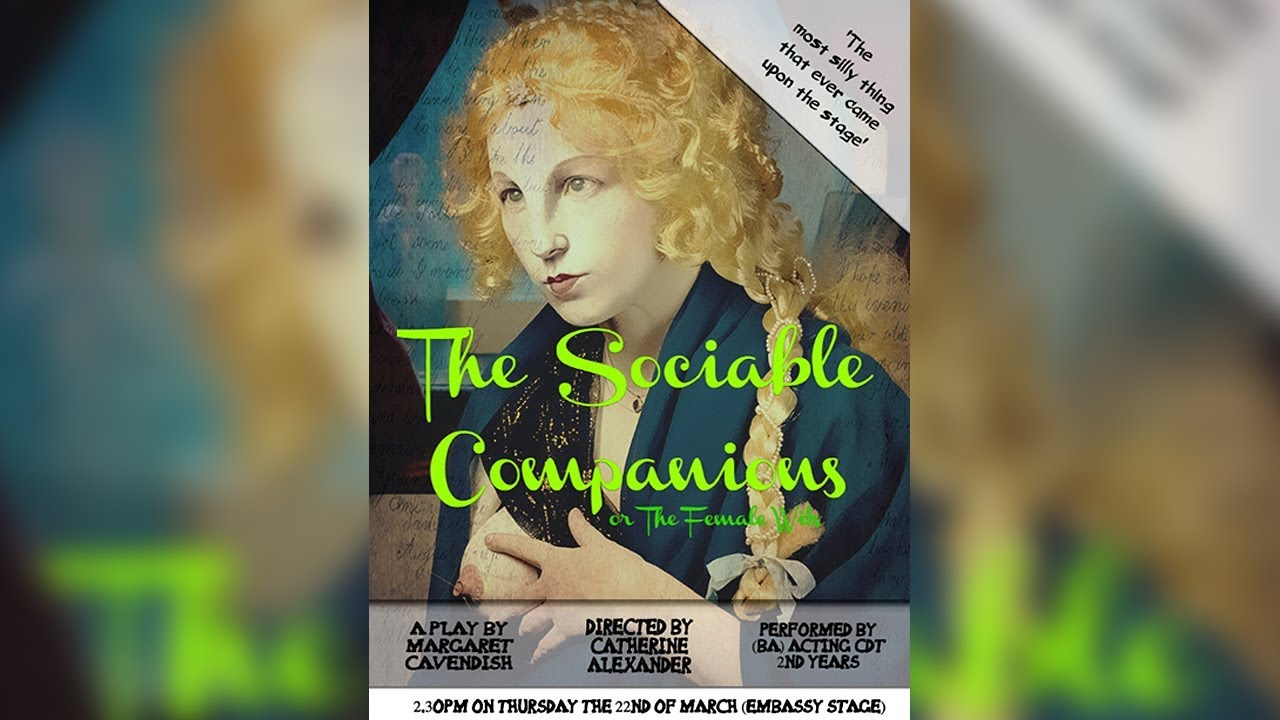 The Sociable Companions // Acting Restoration Comedy at @CSSDLondon