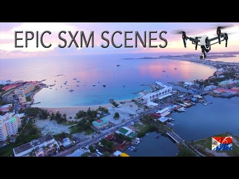Epic aerial SCENES of SXM ~ Best UAV Drone Caribbean ~ WeBeYachting.com