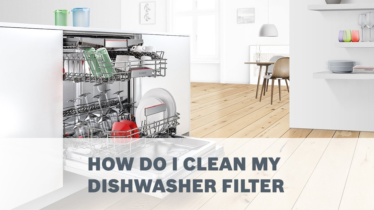 How Do I Clean My Dishwasher How Do I Clean My Dishwasher Filter Youtube