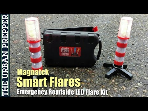 Magnatek Smart Flares: Emergency Roadside LED Flare Kit