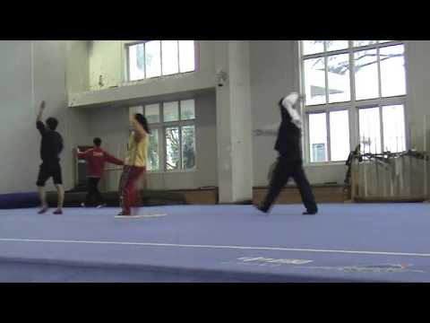 Training with the Shanghai Wushu Team - Teaser Clips 2 (Dec 2012)