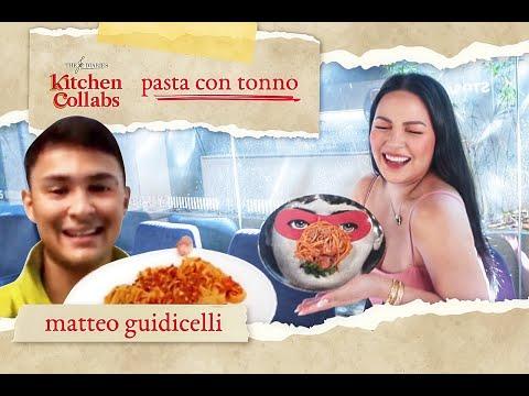 Kitchen Collabs S2: HOMEMADE TUNA PASTA w/ Matteo Guidicelli! 🍝