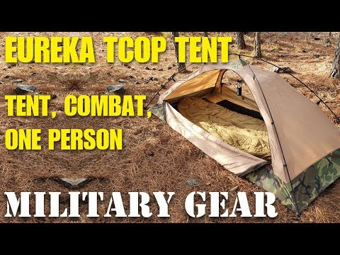 Eureka TCOP One Man Combat Tent - Best Bug Out Tent Shelter