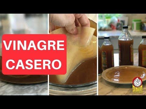 Cómo hacer vinagre casero - PRIMERA PARTE