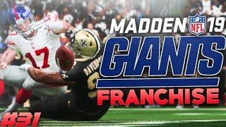 So Many Sack Fumbles! Madden 19 New York Giants Franchise Ep. 31