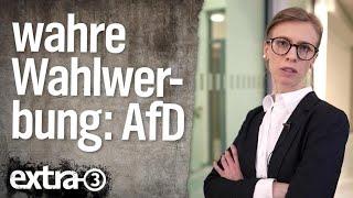 Wirklich wahre Wahlwerbung: Alternative für Deutschland