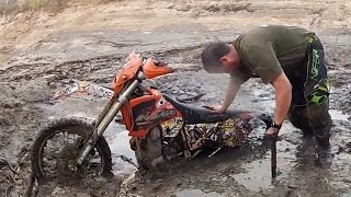 HUGE DIRTBIKE CRASHES COMPILATION 2016