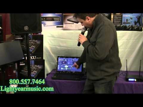 Wireless Karaoke System Digital karaoke laptop Yamaha
