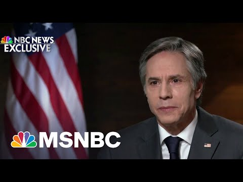 Blinken: 'We Are Not Disengaging From Afghanistan' | MSNBC