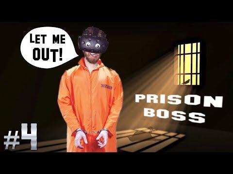 MAKING HOOKAH IN THE VR PRISON! | Prison Boss VR #4 - HTC Vive Gameplay