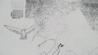 Rapace Figures archaïques - Video Painting Concept
