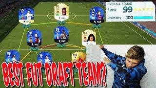 BEST FUT DRAFT TEAM OHNE CHEMIE!! - FIFA 16: ULTIMATE TEAM (DEUTSCH)
