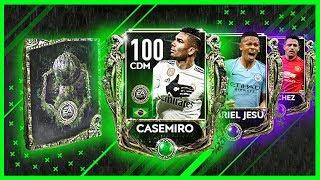 İZLEYİCİM İÇİN PAKET AÇIP 100 GEN CASEMIRO ÇIKARTTIM FIFA MOBILE