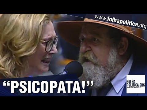 Maria do Rosário é chamada de psicopata pelo deputado Nelson Barbudo após atacar Bolsonaro