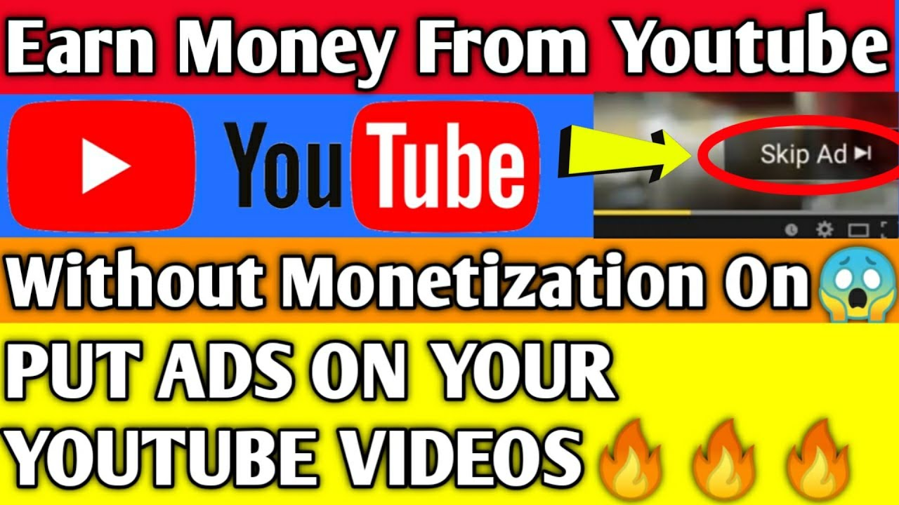 Earn money from your YouTube videos