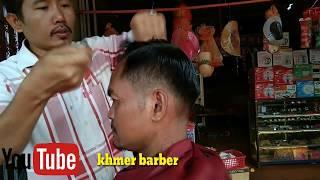 របៀបកាត់សក់ឡុងសុងប៉ោង , how to haircut for men