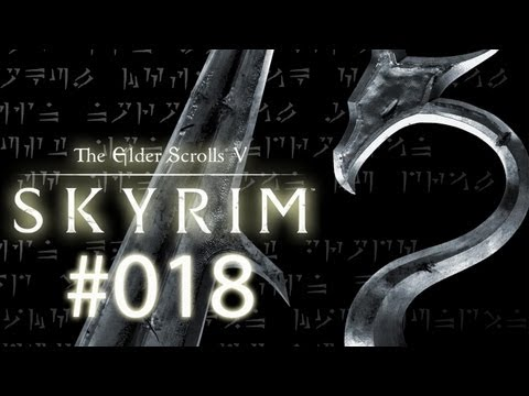 Let's Play The Elder Scrolls 5: Skyrim #018 [Deutsch] [HD] - Drachenangriff
