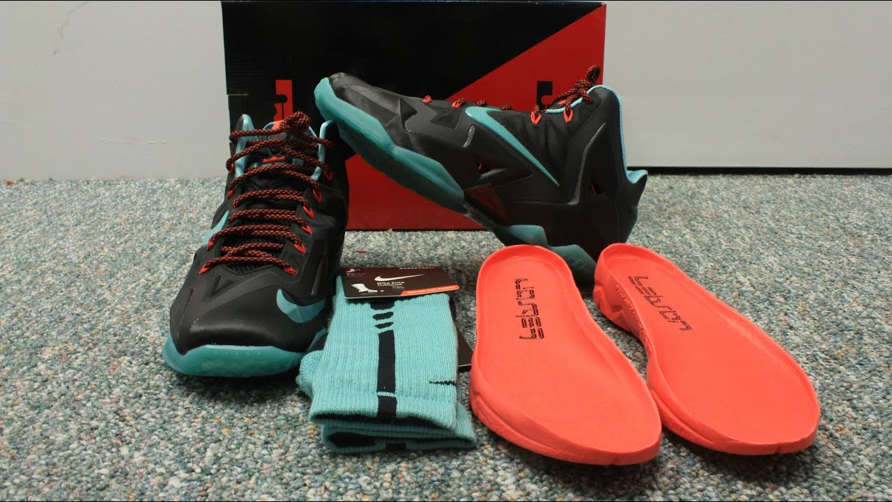 save off bc82d da89a Nike LeBron 11 Jade Glaze Review