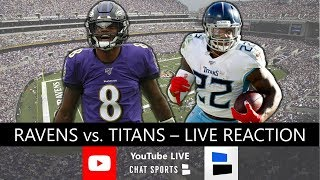 Ravens vs. Titans Live Stream, Score, Stats & Updates | 2020 NFL Playoffs Divisional Round