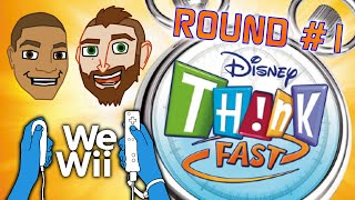 Disney Think Fast: Round 1 | We Wii | Renegade Pineapple