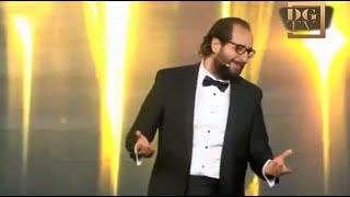 كوميديا الفنان احمد امين عند تقديمة حفل توزيع جوائز - ACA