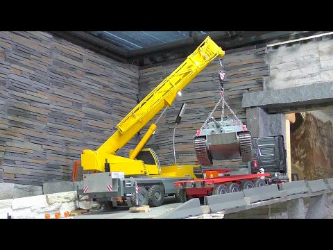 MOBILE CRANE - NICE AND AMAZING RC CRANE, BEAUTIFUL AND SRONG RC  MODELS