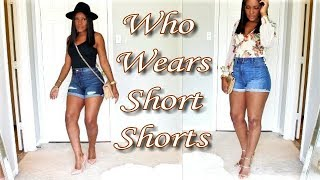 The Correct Way to Style Shorts for Warm Weather Coachella Vibes- Styling Denim Shorts