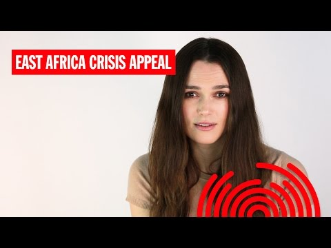 Keira Knightley Makes An Urgent Appeal for the East Africa Crisis