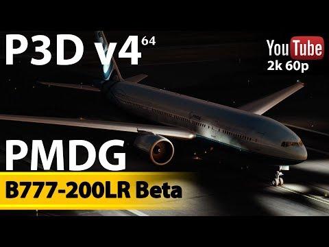Beta B777 PMDG + KSFO l P3D v4  1440p