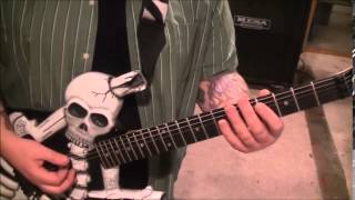 How to play Rocket 88 by Jackie Brenston & His Delta Cats on guitar by Mike Gross
