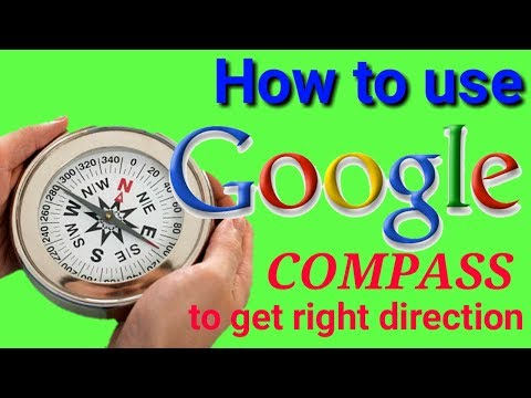 How to use google compass to get right direction - Vastu shastra tutorial
