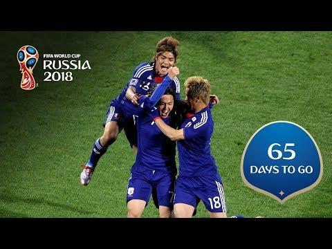 65 DAYS TO GO! Japan stars make their mark