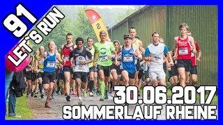 Let´s Run #91 - Sommerlauf Rheine 5km im strömenden Regen und Matsch