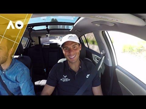 Rafael Nadal: Kia Open Drive | Australian Open 2017