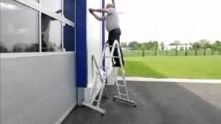 видео Стремянки Sarayli или алюминиевые комбинированные лестницы