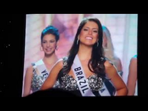 [THROWBACK] Miss Universe 2010-2013 - Final Rehearsal for Announcement of Semifinalists