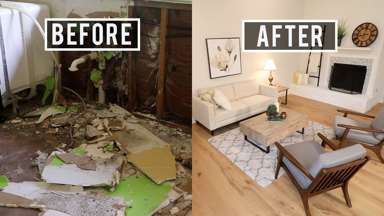 Before And After House Flip Major Renovation Youtube