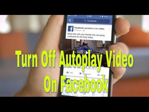 Cara Menghentikan Putar Otomatis Video Di Facebook