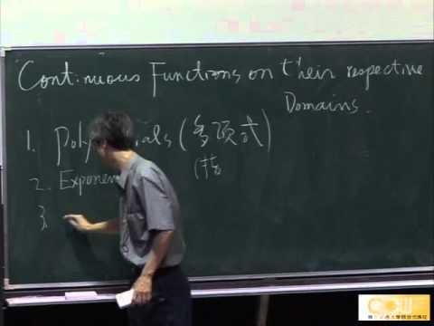 Lec06 微積分(一) 第二章 Limits and derivatives