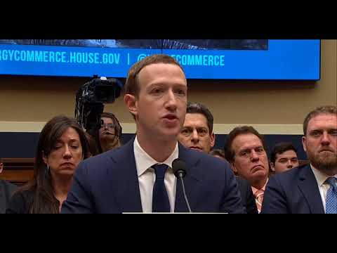 Audiere Mark Zuckerberg testimony Facebook CEO faces second day of questioning Congress SUA 11 04 20