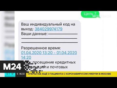 В Подмосковье готовят систему спецпропусков для режима самоизоляции - Москва 24