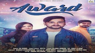 Award   (FULL HD)   RK Bawa   New Punjabi Songs 2018   Latest Punjabi Songs 2018