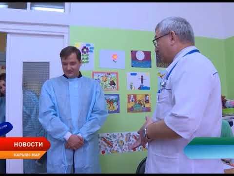 Александр Цыбульский ознакомился с работой основных отделений Ненецкой окружной больницы