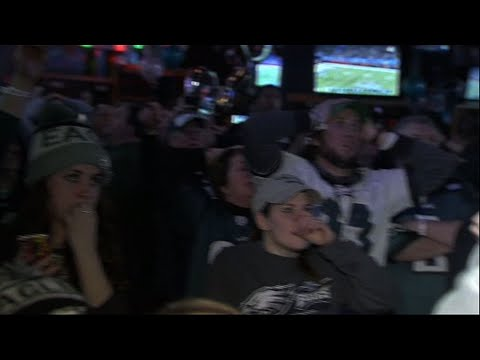 Fans in Philly Celebrate Super Bowl Win
